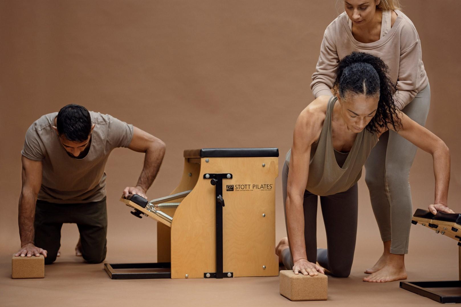 Pilates träning
