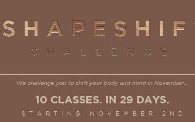 The Shapeshift Challenge